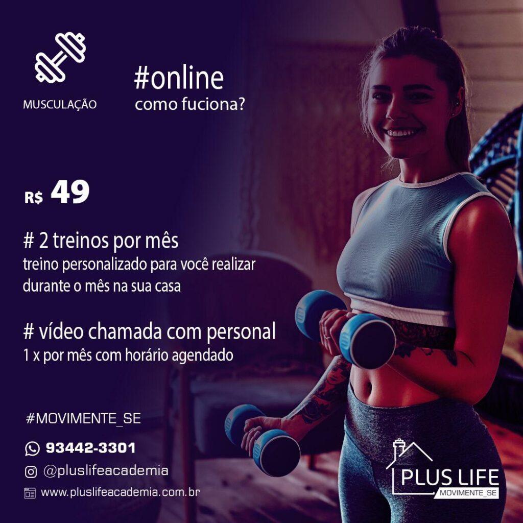 Plano de Musculação Online