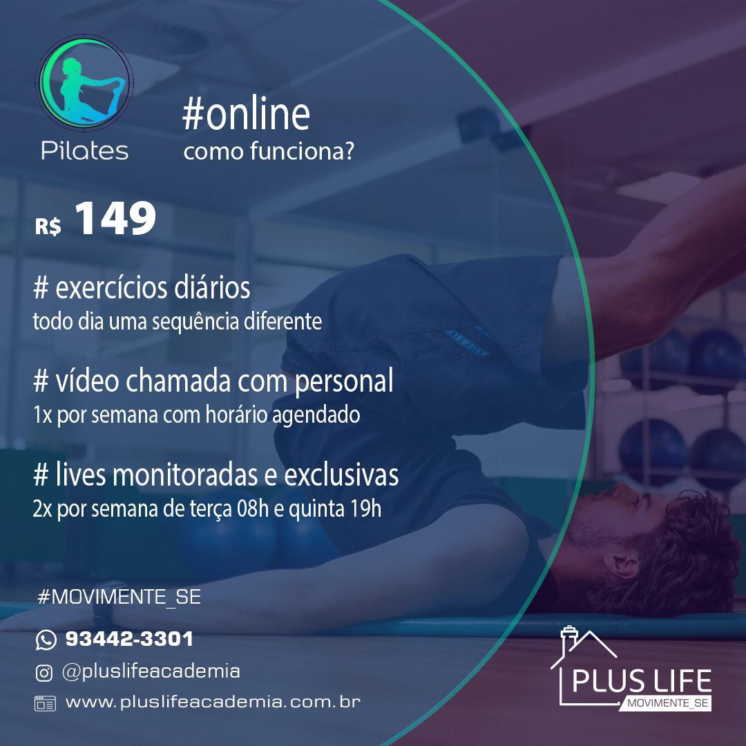 Plano de Pilates Online